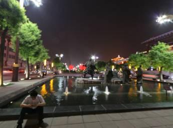西安大雁塔广场