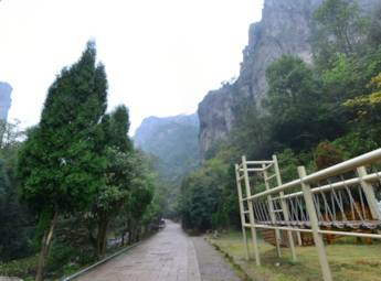 温州乐清中雁荡山