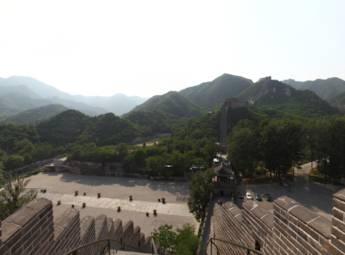 北京八达岭水关长城景区