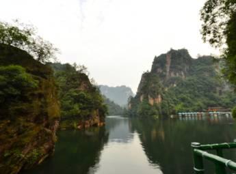 湖南省张家界宝峰湖