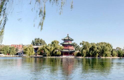 北京什刹海风景区