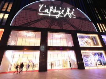 北京西单夜景