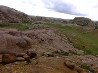 新疆托里怪石沟