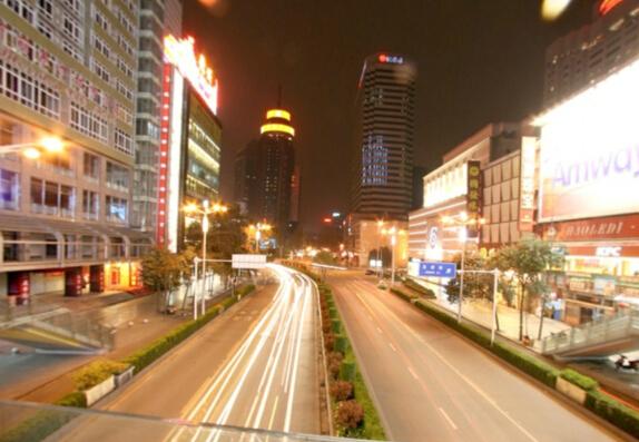 成都春熙路夜景