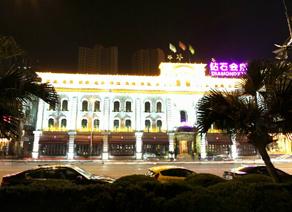 温州江滨路夜景
