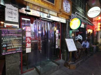 溫州朔門街夜景