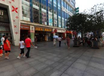 南昌市胜利路步行街