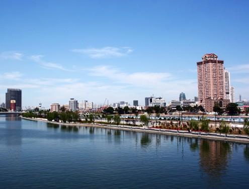天津海河风光