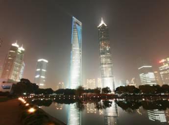 上海陆家嘴金融贸易区
