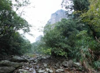 东南第一温州山中雁荡山动景欣赏