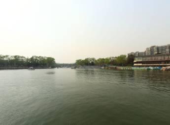 北京陶然亭公园春景