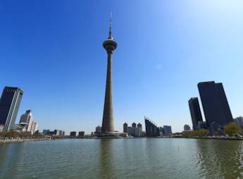 天津市天塔湖景區