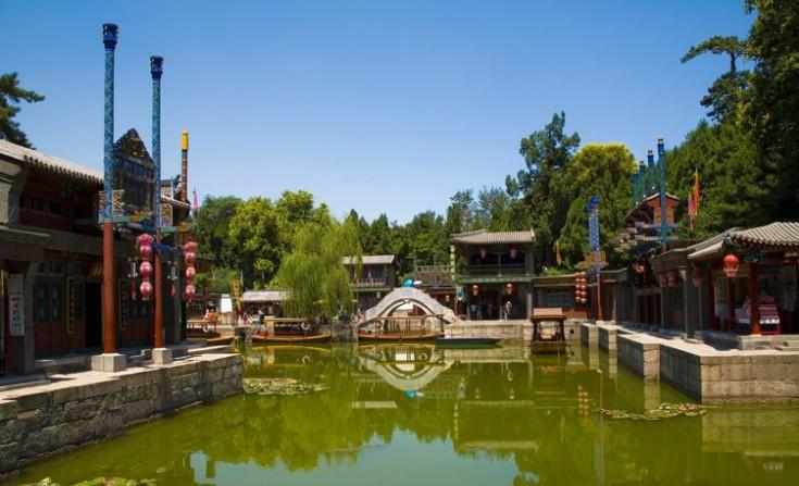 北京颐和园智慧旅游实景导览