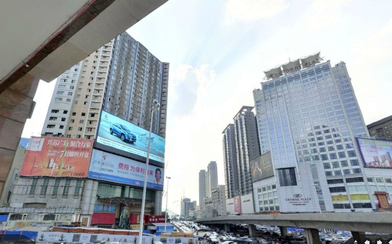 长沙市五一路-黄兴路口