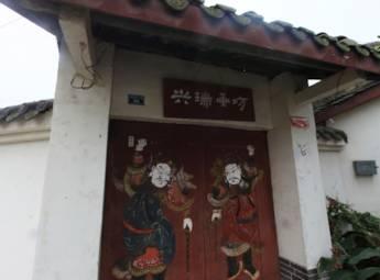 四川德阳年画村