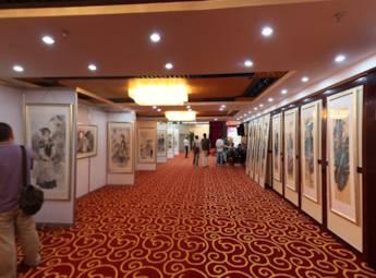 河南郑州画展