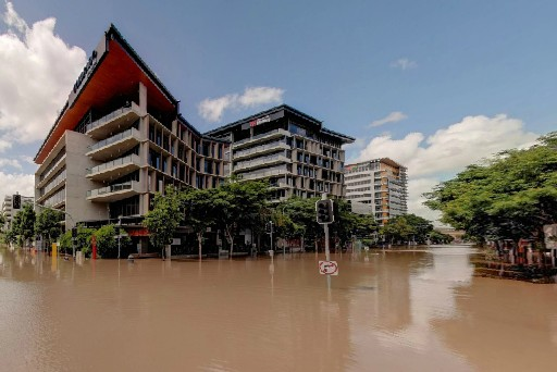 澳大利亚布里斯班洪水