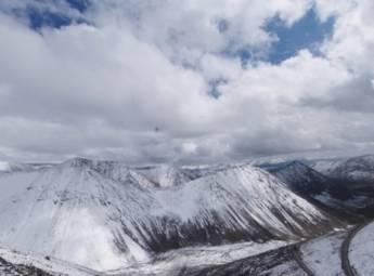 一号冰川 216国道