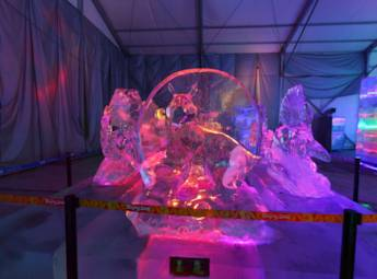 2014奥林匹克公园冰灯艺术节