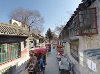 北京后海胡同