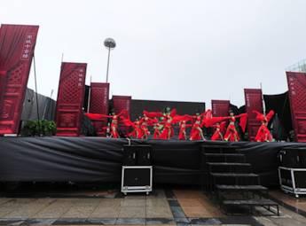 2012浙江(江苏)旅游交易会场外演出
