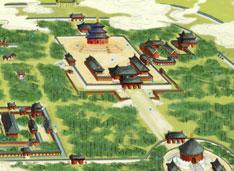 北京天壇公園智慧旅游實景導覽