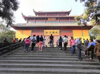 杭州灵隐寺景区