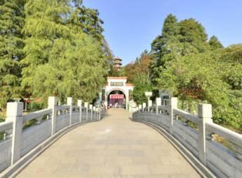 解放公园中华名塔园