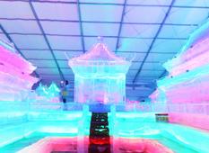 【VR】奥林匹克公园冰灯艺术节