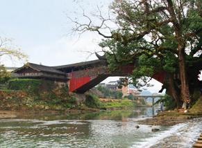 廊橋-氡泉-北澗橋