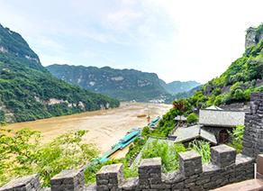 【VR】湖北宜昌三峡人家巴王寨景区
