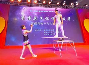 【视频】2017第十二届文博会杂技表演