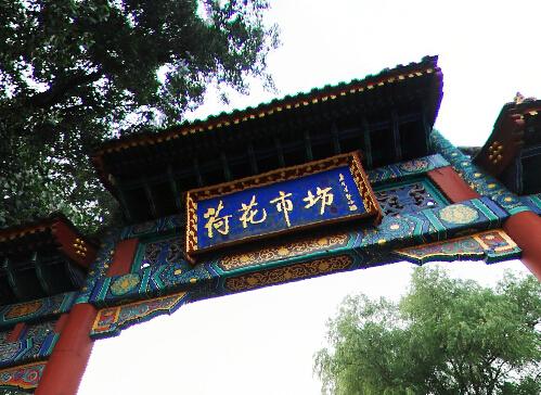 北京荷花市场