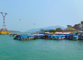 越南芽庄摆渡港口