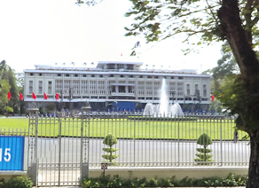 越南胡志明市统一宫