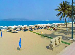 越南芽庄海滩