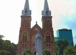 越南胡志明市红教堂