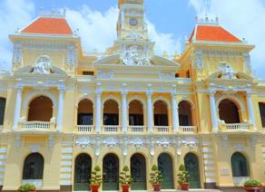 越南胡志明市政厅