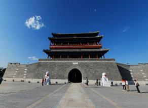 北京永定门箭楼