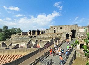 意大利·庞贝古城遗址